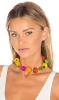 Mercedes Salazar Fruits Single Choker in Red.