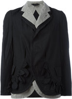 Comme des Garcons Double jacket - women - Cotton/Polyester - S