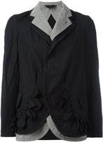 Comme des Garcons Double jacket - women - Cotton/Polyester - XS