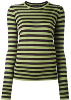 Rochas striped knit jumper