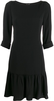 Emporio Armani drop-waist shift dress