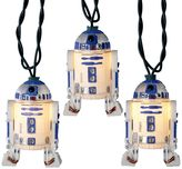 Kurt Adler 10-Light Star Wars R2D2 Christmas Light Set