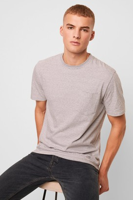 French Connenction Micro Twin Stripe T-Shirt