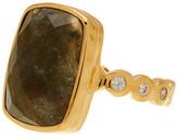 Melinda Maria Mia Labradorite & CZ Ring