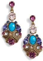 Sorrelli Edelweiss Crystal Drop Earrings