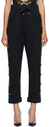 Balmain Black Boyfriend Lounge Pants