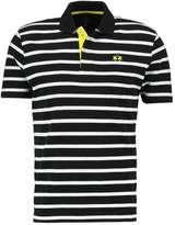 La Martina Striped Print Tshirt Black/optic White