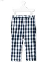 Il Gufo checked trousers - kids - Cotton/Polyamide/Spandex/Elastane - 5 yrs