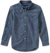 Ralph Lauren Little Boys 2T-7 Button-Down Long-Sleeve Chambray Shirt