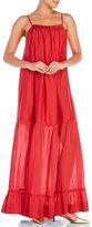 Alysi Square Neck Maxi Dress