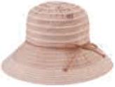 San Diego Hat Company Women's Packable Ribbon Crusher Medium Brim Hat RBM4774