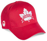Canadian Olympic Team Collection Canada Maple Leaf Baseball Cap