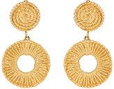 Stazia Loren Women's Double-Drop Clip-On Earrings