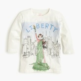 J.Crew Girls' Olive Statue of Liberty T-shirt