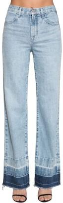 J Brand Joan High Rise Wide Denim Jeans