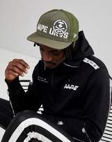 Aape By A Bathing Ape Strap Back Cap With Logo