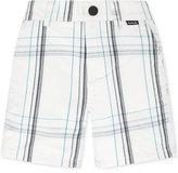 Hurley Little Boys' Plaid Walking Shorts, Little Boys (2T-7)