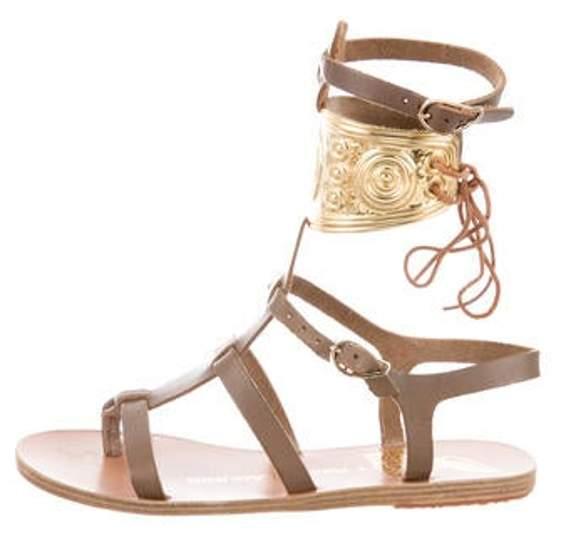 Ancient Greek Sandals Rhodes Gladiator Sandals w/ Tags brown Rhodes Gladiator Sandals w/ Tags