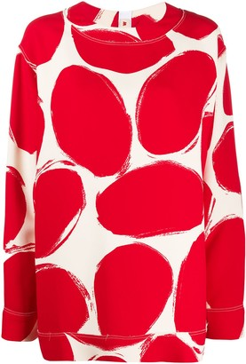 Marni Polka Dot Pattern Top
