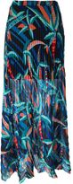 MSGM double layer pleated skirt - women - Polyester/Spandex/Elastane - 44