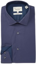 Ted Baker Bookers Endurance Slick Rick Slim Fit Dress Shirt