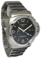 Panerai Luminor 3 Days GMT PAM 329 Stainless Steel 44mm Mens Watch