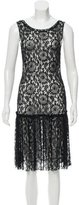 Moschino Cheap & Chic Moschino Cheap and Chic Lace A-Line Dress