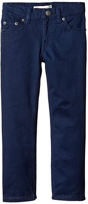 Levi's Kids 511tm Sueded Pants (Little Kids) (Dress Blues) Boy's Casual Pants