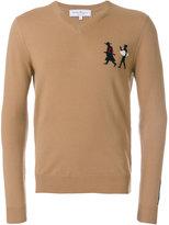 Salvatore Ferragamo The Passerby jumper - men - Cashmere/Virgin Wool - S