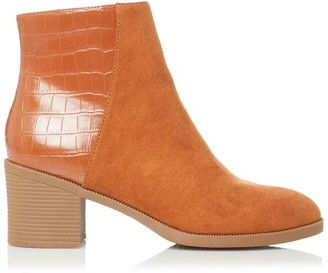 Head Over Heels Oakli Block Heel Ankle Boots