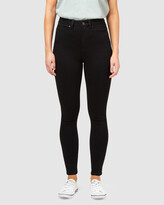 Thumbnail for your product : Jeanswest Women's Black High-Waisted - Freeform 360 Contour High Waisted Skinny 7-8 Jeans Black - Size One Size, 10 Regular at The Iconic