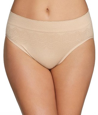 Vanity Fair No Pinch No Show Hi-Cut Seamless Brief