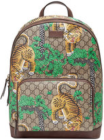 Gucci Bengal GG Supreme backpack - men - Leather/Nylon/Canvas/Microfibre - One Size