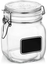 Bormioli Fido Chalk Label Medium Jar, 25.25 oz.