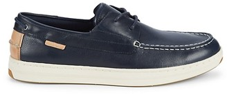 Cole Haan Cloudfeel Weekender Leather Boat Shoe