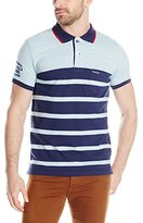 U.S. Polo Assn. Men's Slim-Fit Color-Block Jersey Polo Shirt