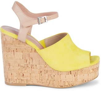 Yellow Wedge Sandals Shopstyle