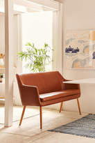 Urban Outfitters Nora Faux Leather Dining Bench