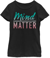 Fifth Sun Black 'Mind Over Matter' Crewneck Tee - Girls