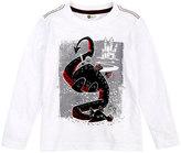 Petit Lem White Dragon Long-Sleeve Top - Toddler & Boys