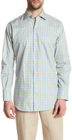 Peter Millar Regular Fit Windowpane Plaid Sport Shirt
