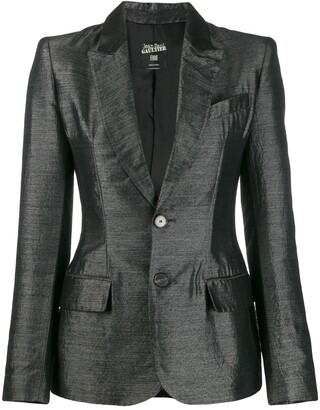 Jean Paul Gaultier Pre Owned 2000's Fitted Blazer