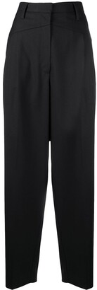 REMAIN Pressed-Crease Tailored Trousers