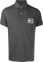 Tommy Hilfiger logo patch polo shirt
