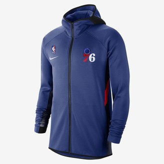 Nike Mens NBA Hoodie Philadelphia 76ers Therma Flex Showtime