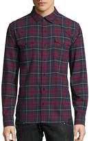 True Religion Men's Ozone Western Plaid Shirt