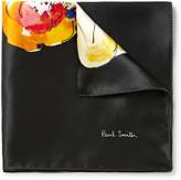 Paul Smith Printed Silk-Satin Pocket Square