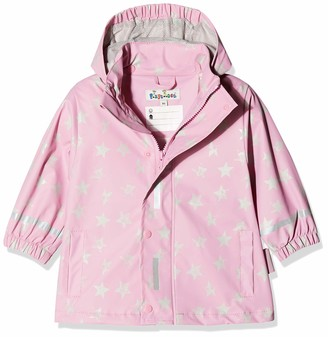 Playshoes Baby Girl Raincoat Raincoat Stars (Pink 14) 80