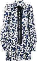 Marc Jacobs floral embroidered dress - women - Silk - 2