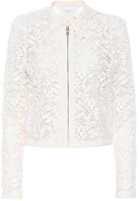 Giambattista Valli Cotton-blend guipure lace jacket